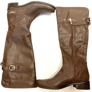 Blondo Vivi Aquaprotect Studded Leather Boots